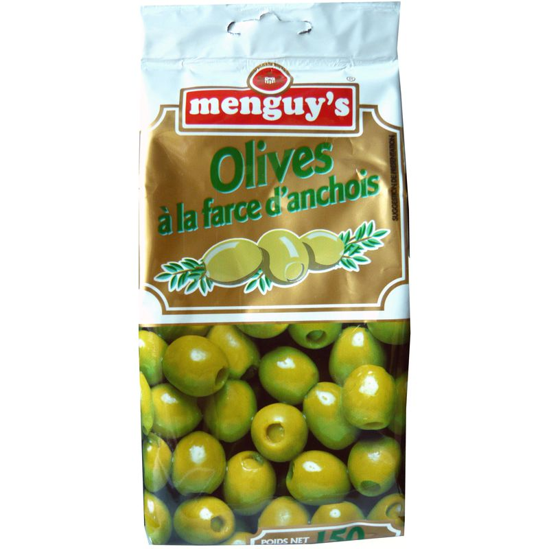 Olives Farcies Anchois 150g
