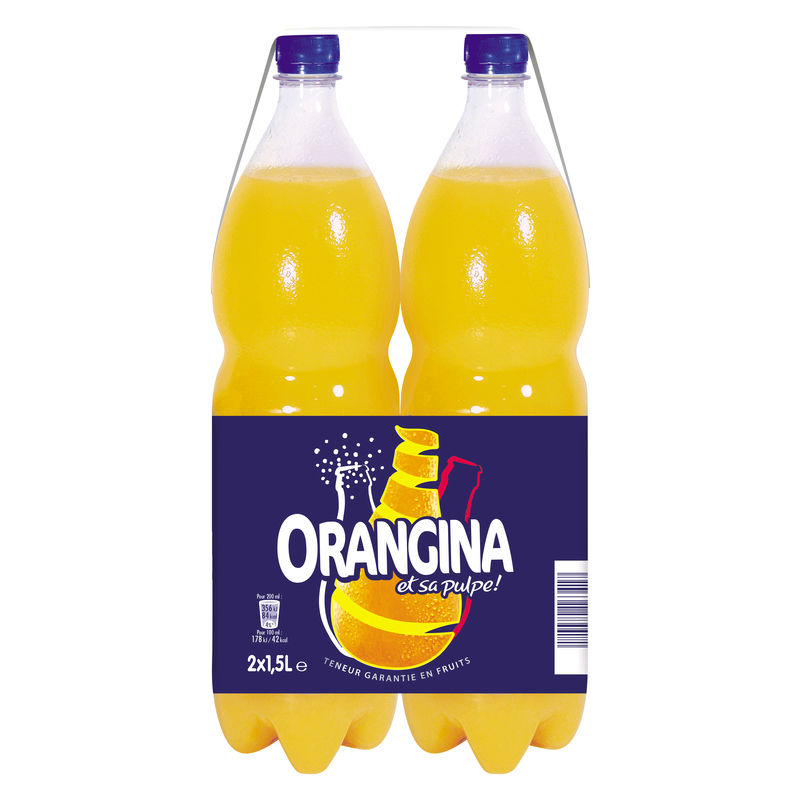 Orangina Std.pet 2x150cl