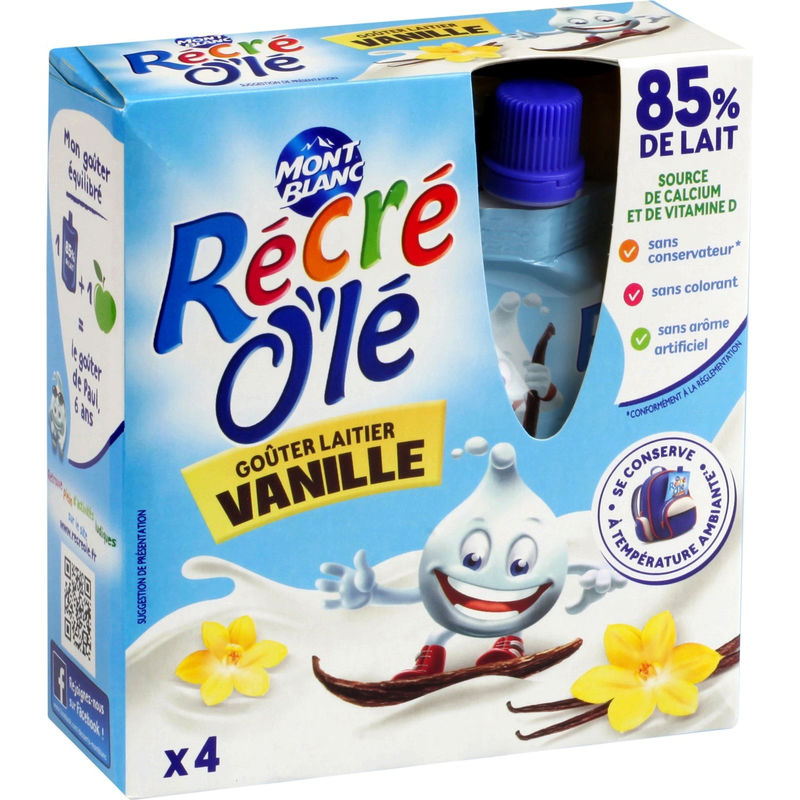 Recre Ole 4x85g Vanille
