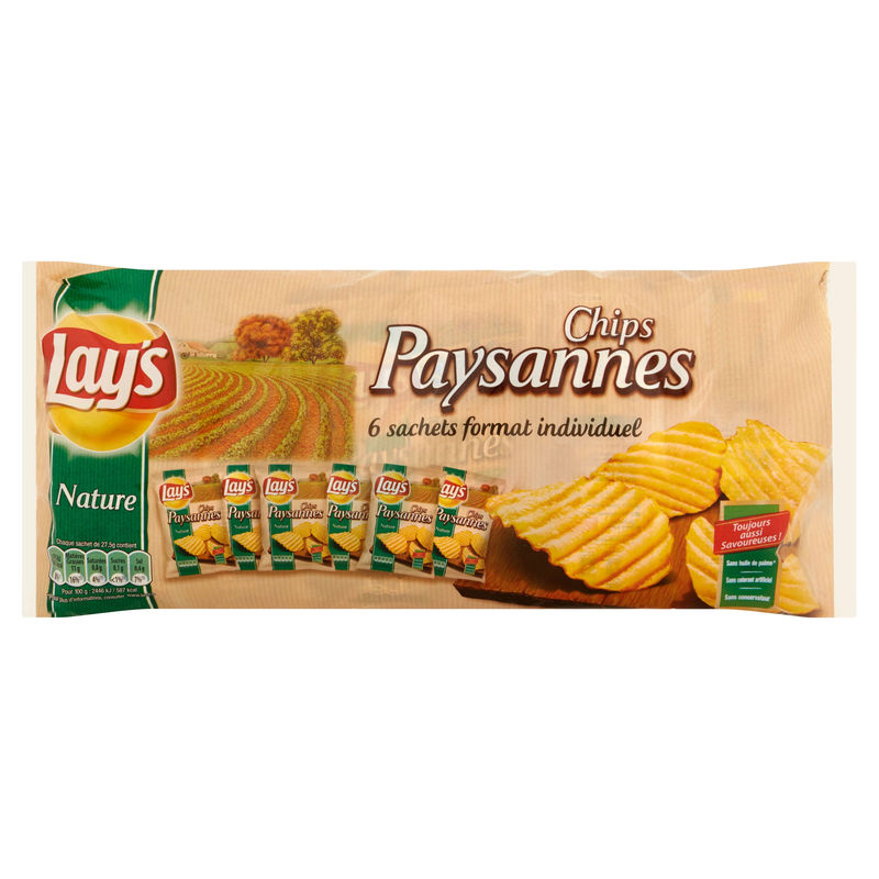 Lay's Multipacks Paysannes 6x2