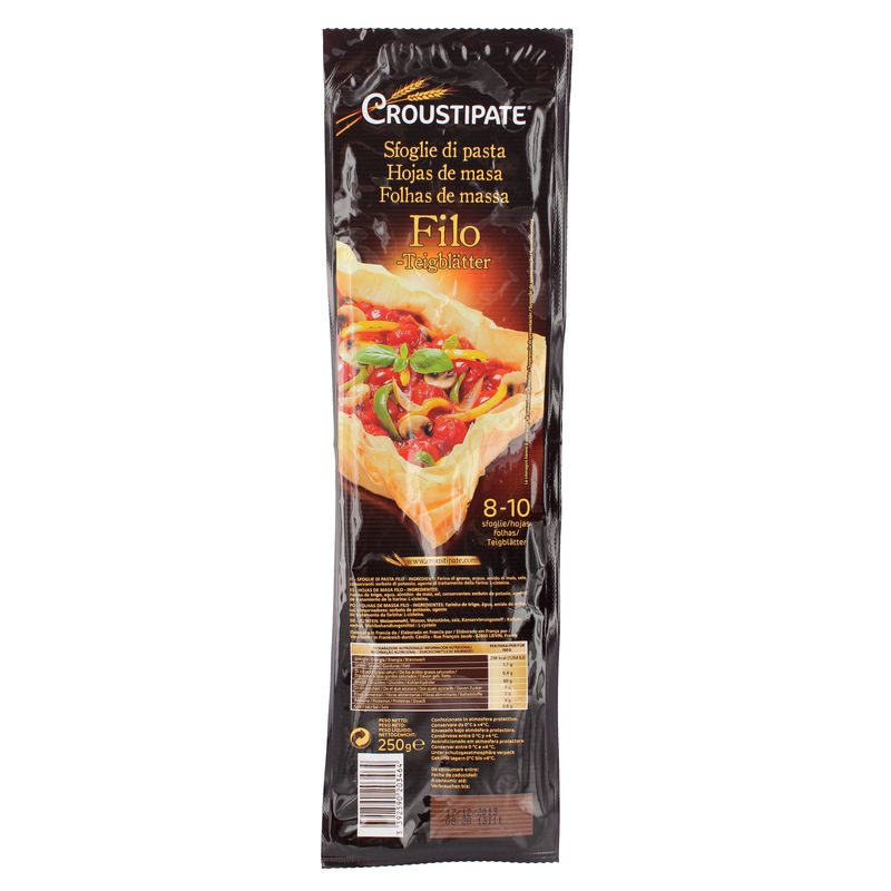 Feuil.filo Croustipate 250g