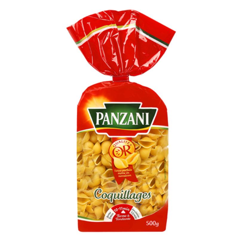 Pates Coquillages Panz.500g