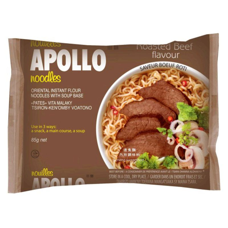 Nouille Apollo Boeuf 85g