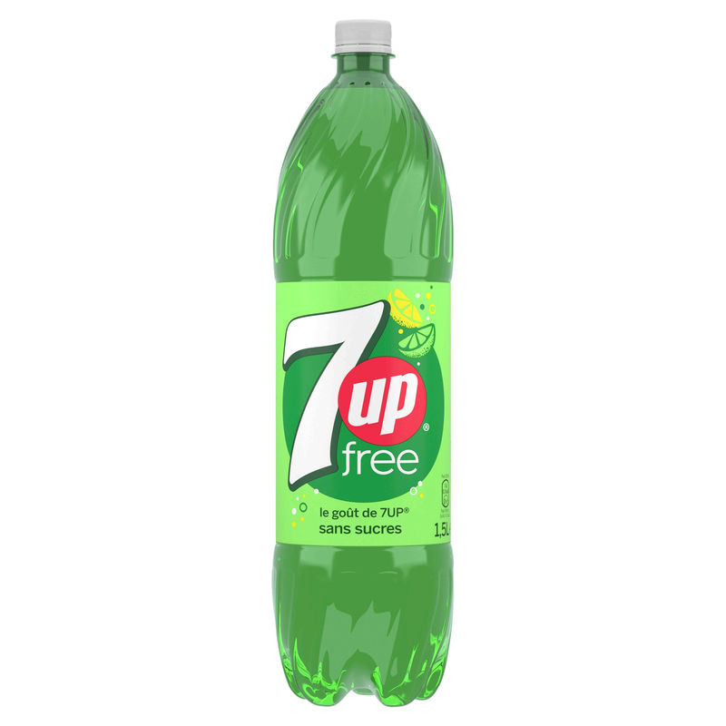 Seven Up 0 Sucres Pet 1.5l