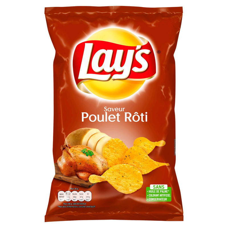 Lays Poulet Thym 130g