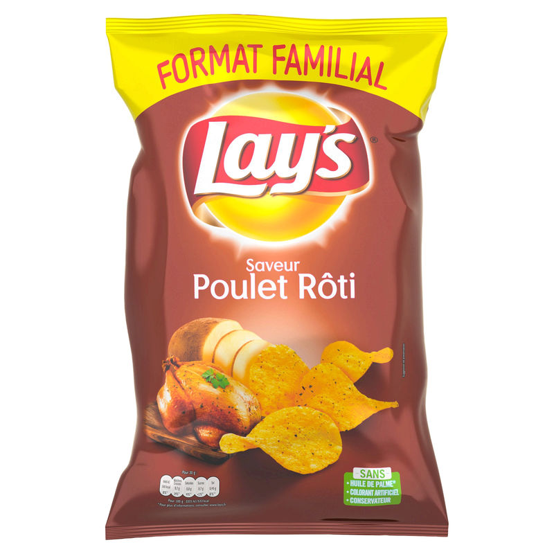 Lays Poulet Thym 240g