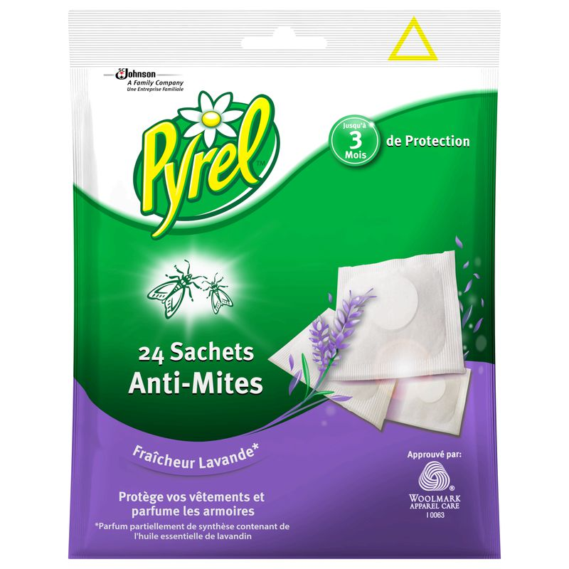Pyrel Sac Anti Mites Lavand.
