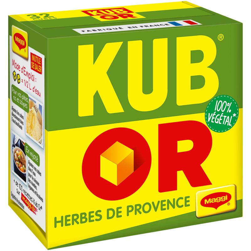 Kub Or Herbe Provence 128g