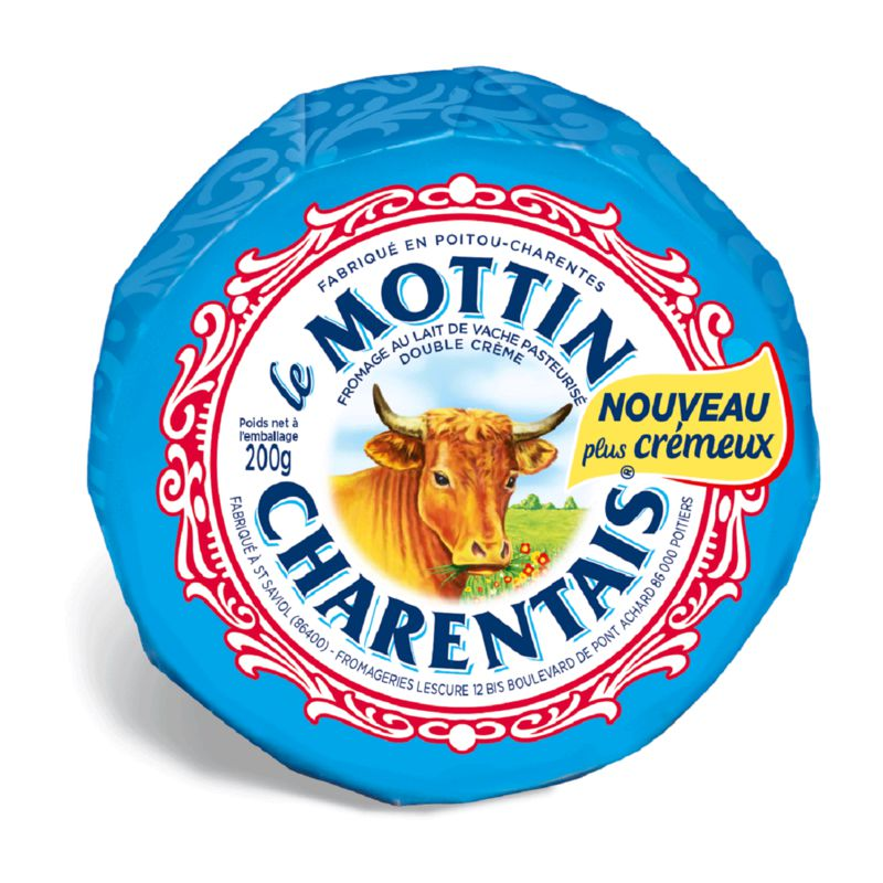 Mottin Charentais 34%mg 200gr