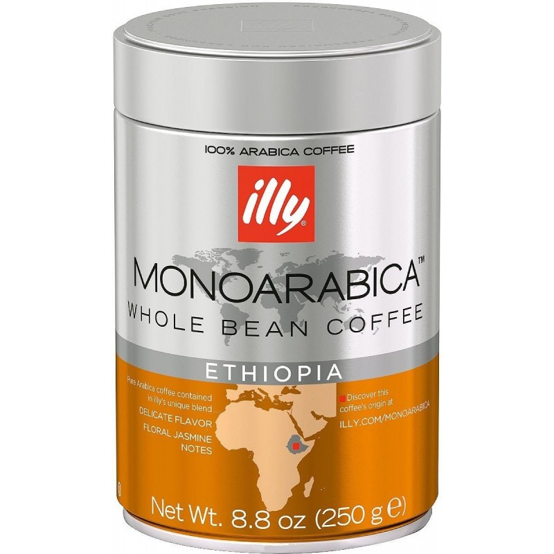 Cafe Illy Grains Ethiopie Bte