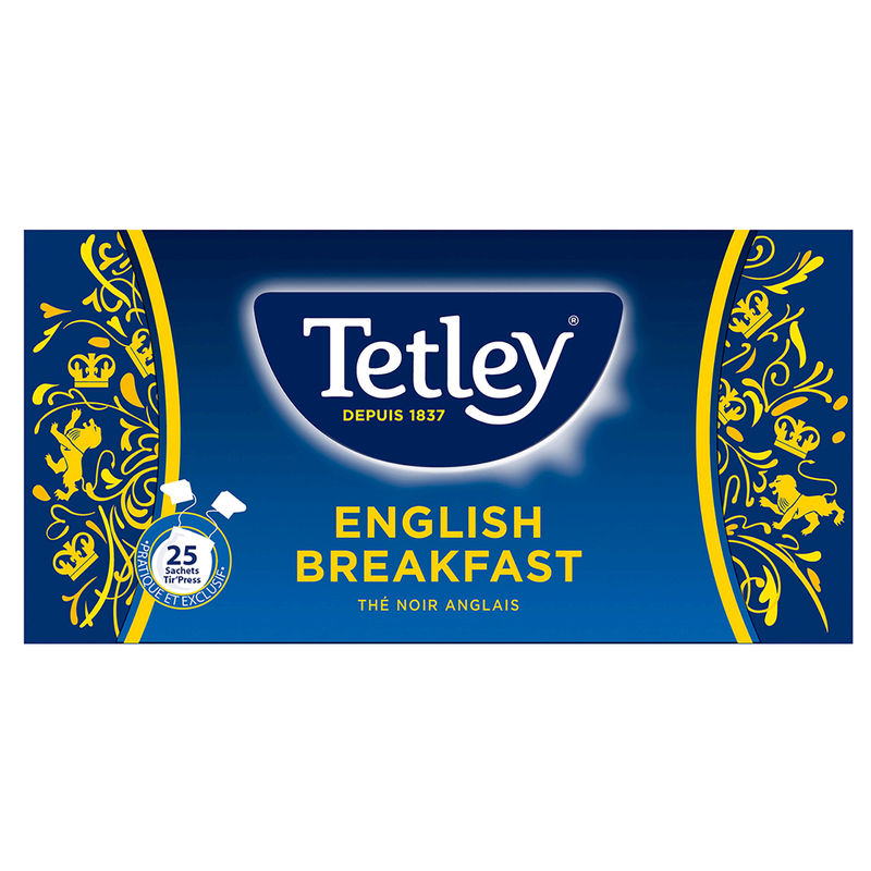 The Anglais Tetley 25s 50g