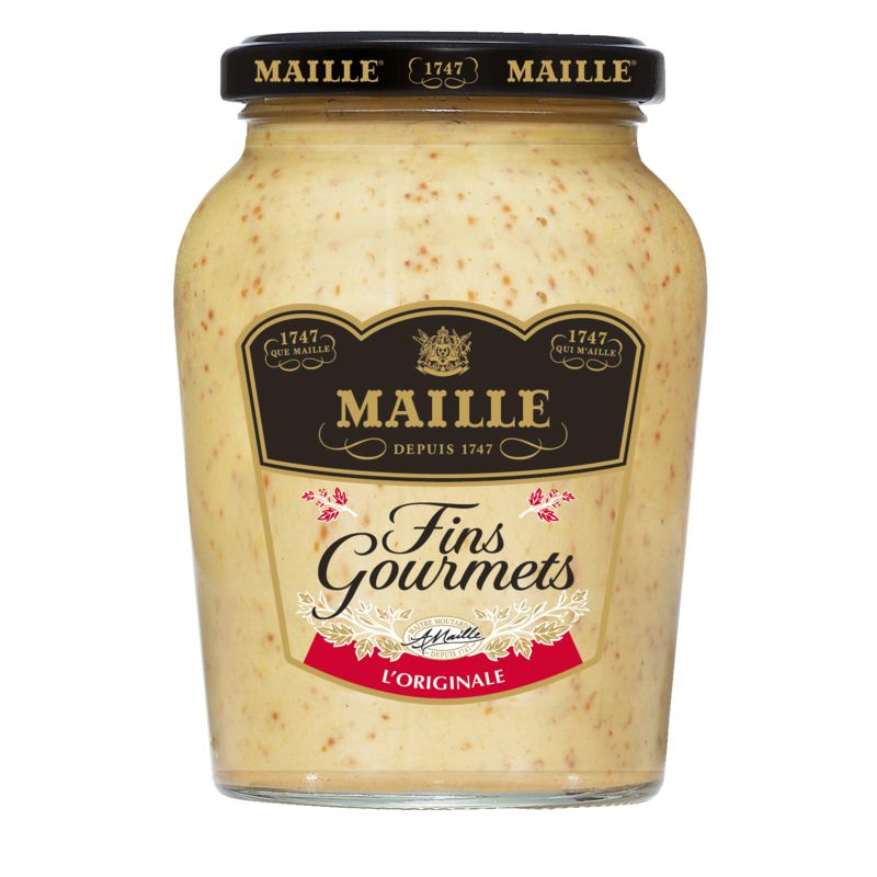 Moutarde F.gourm. Maille 340g