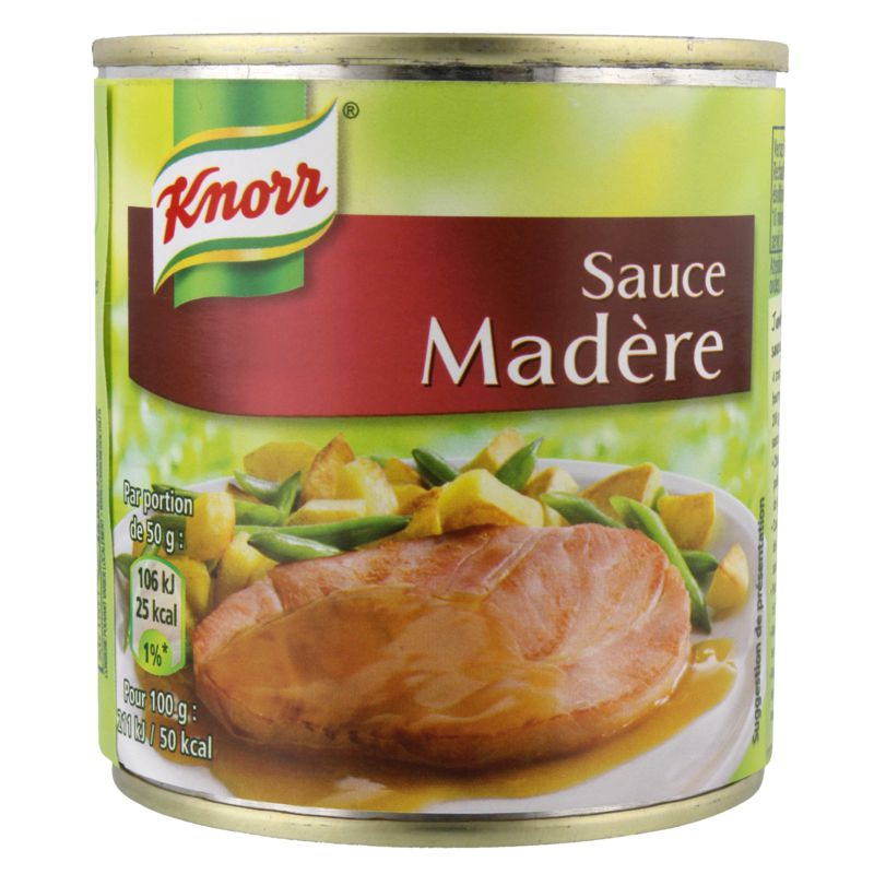 Sauce Madere Knorr Bte 200g