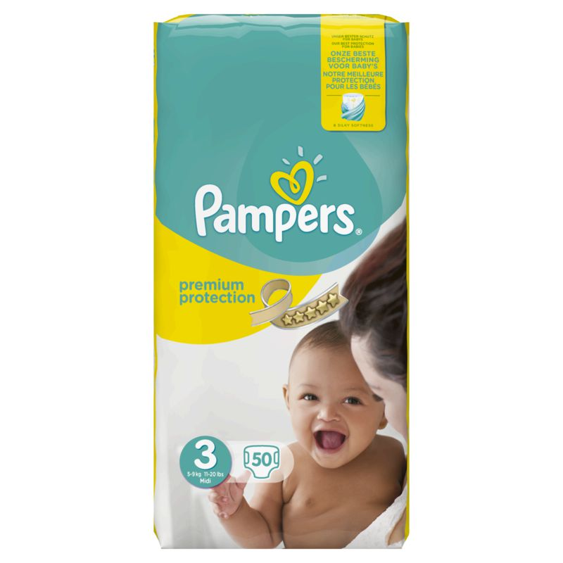 Pampers New Baby Midi X50