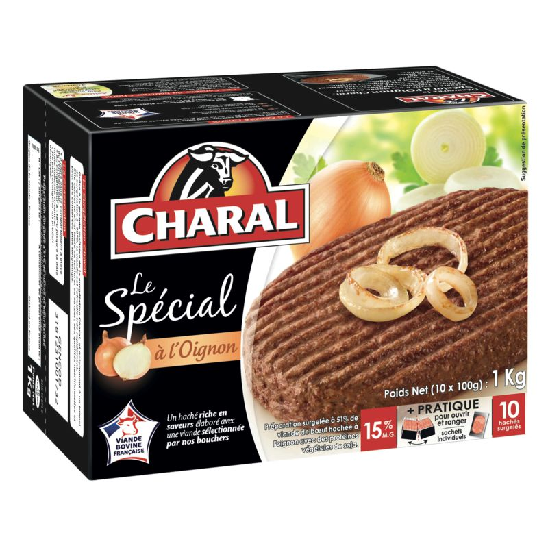 Charal Hache Oign.15% 100gx10