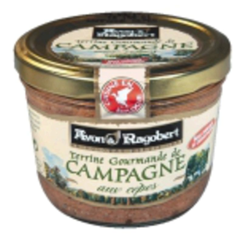 Terrine Campagne Cepes 180g
