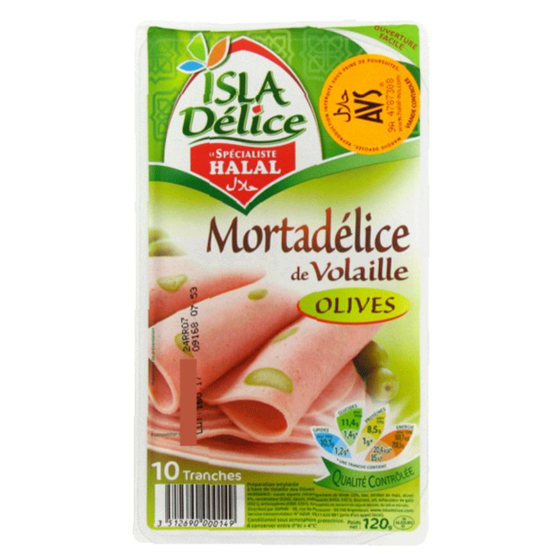 Morta Vol/bfolv Halal 120g