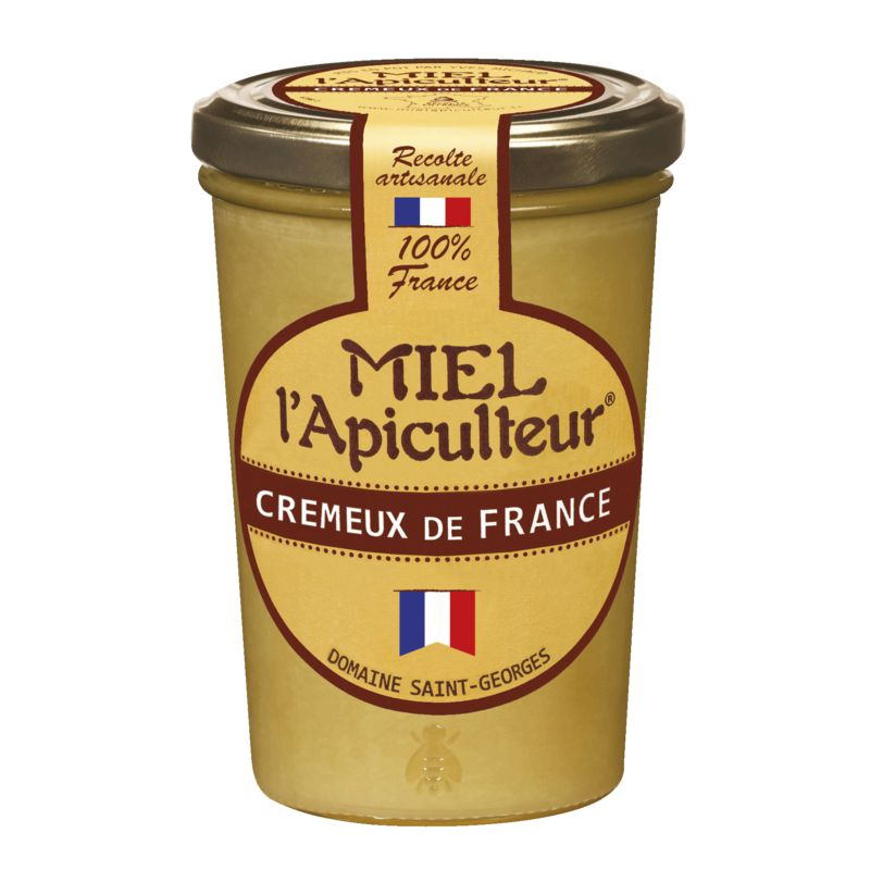 Miel France Pot Verre Cremeux