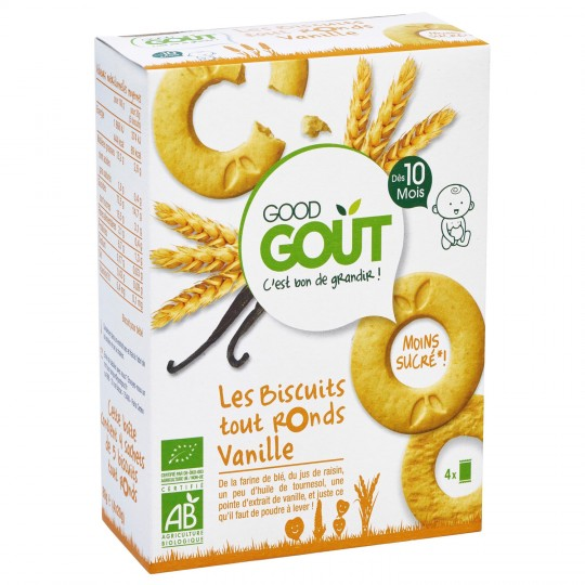 Good Gout Biscuit Rond Vanil 8