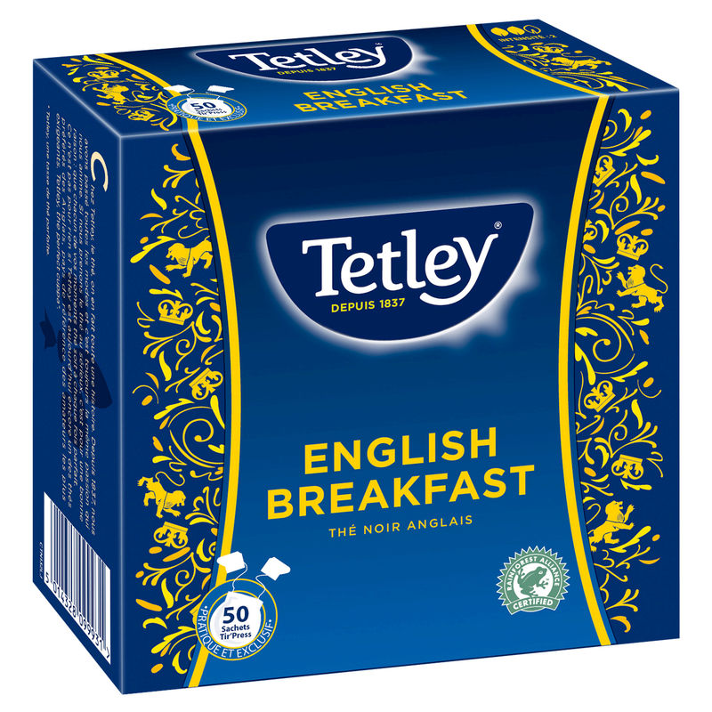 The Anglais Tetley 50s 100g