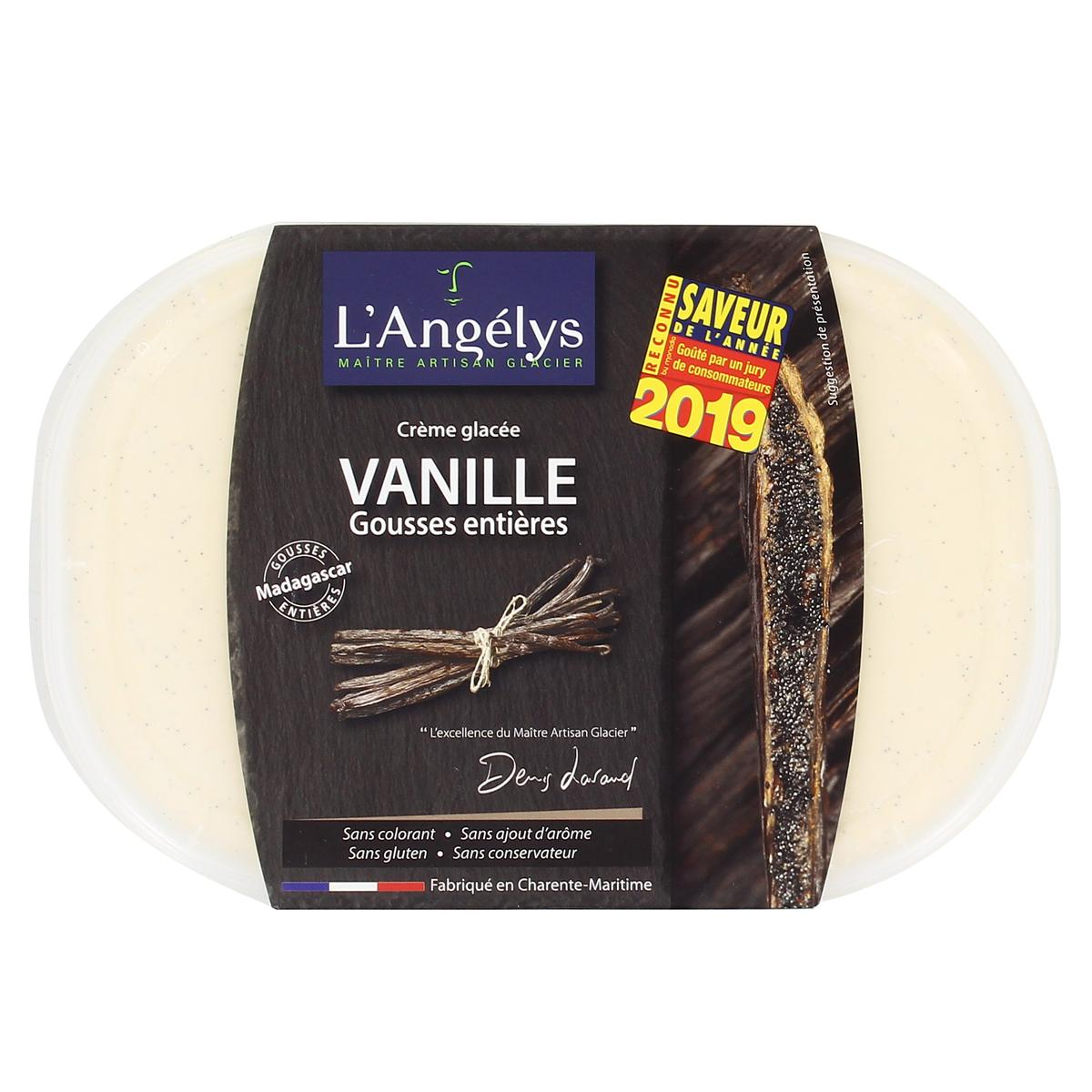 Glace Vanille 450g