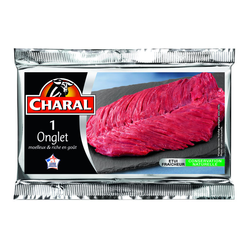 Boeuf Onglet Charal 140g X1 En