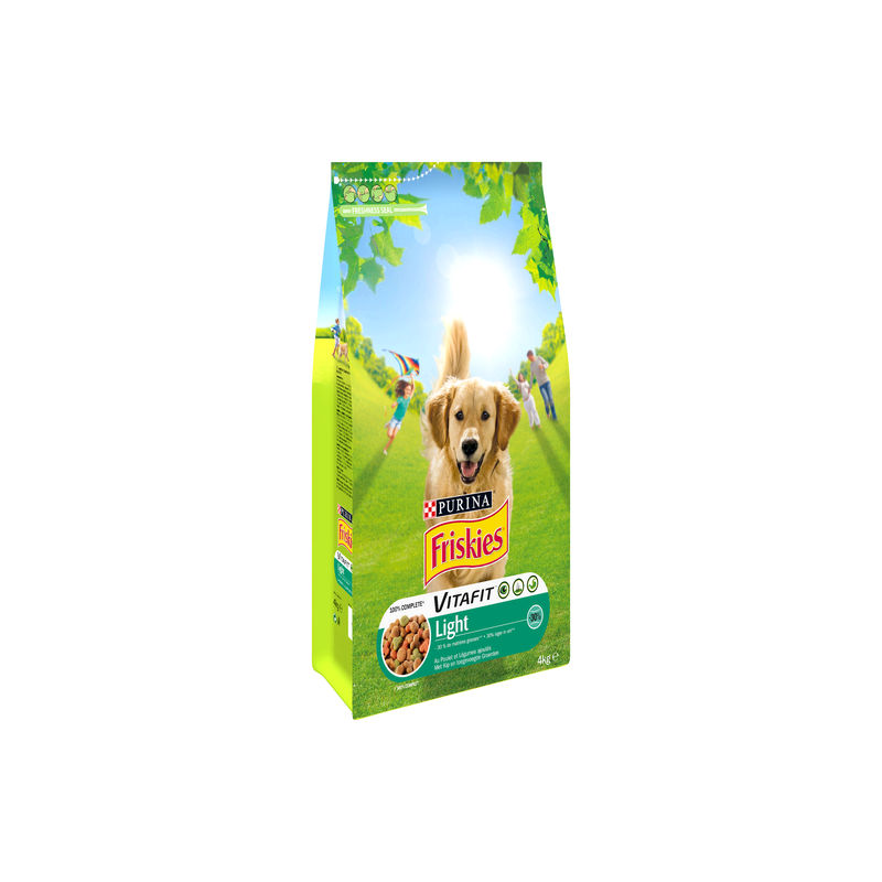 Friskies Croq.chiens 4kg Light
