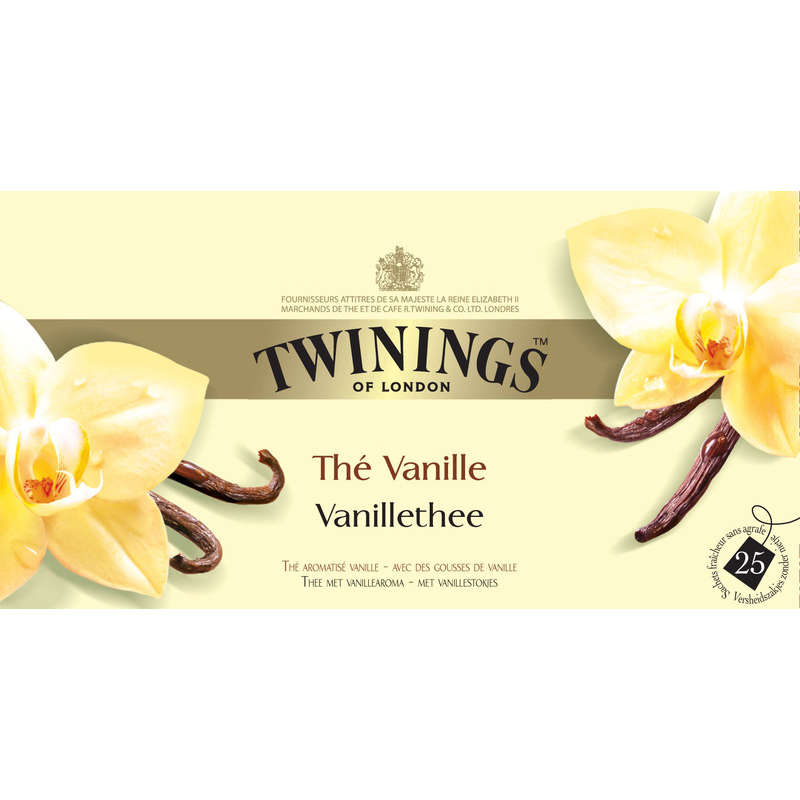 The Twinings Vanille 25s 50g