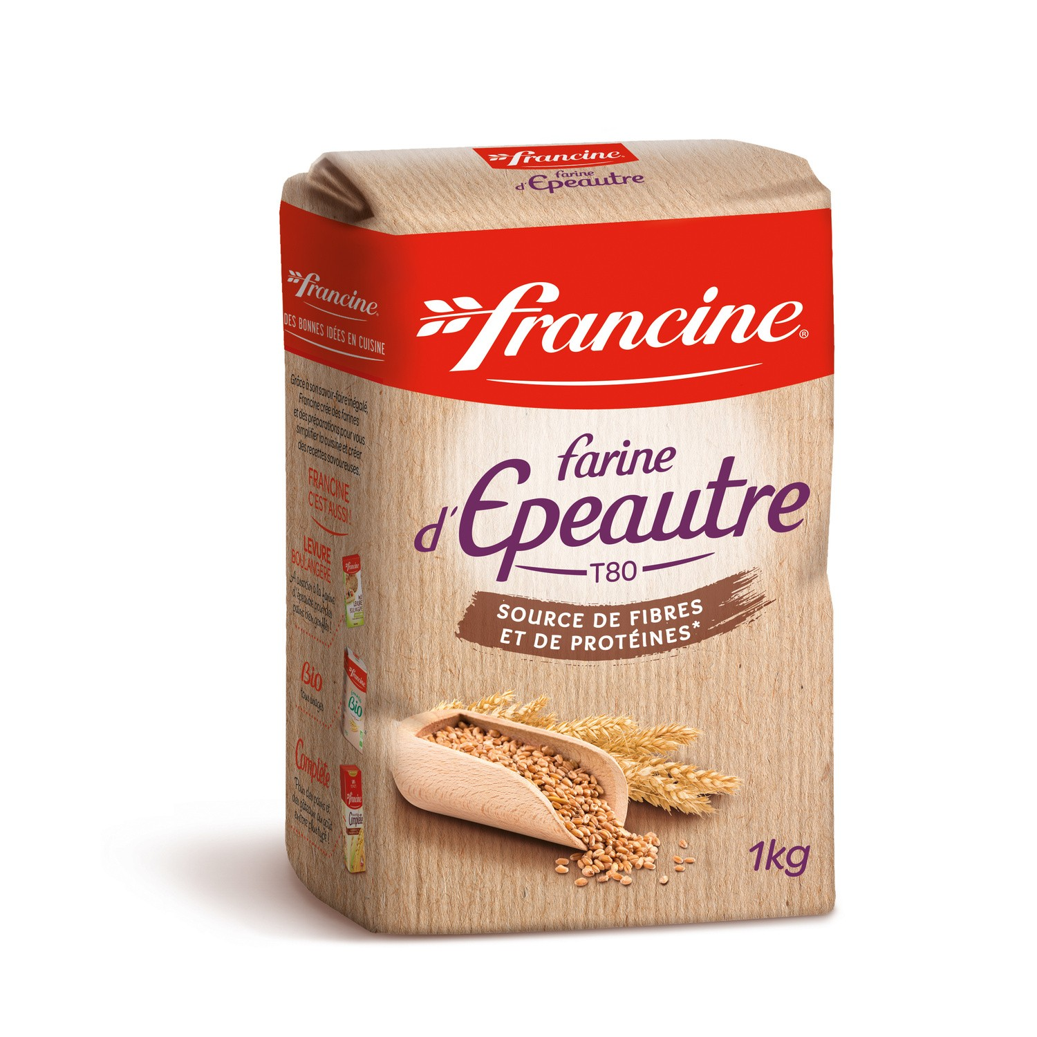 Franc Farine Epeautre 1kg