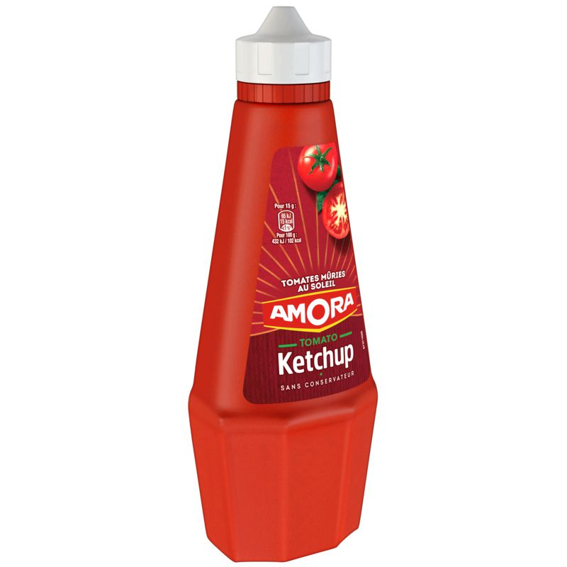 Amora Ketchup Top Up 575g