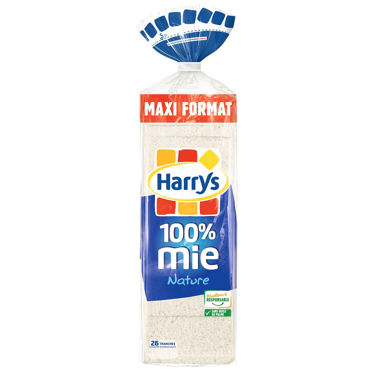 Harry's 100% Mie Nat 650g