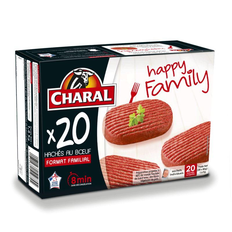 Les Haches Happy Family 20x80g