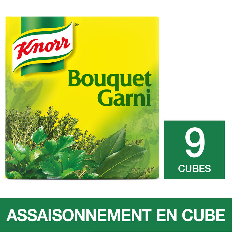 Bouquet Garni 9 Tablettes Knor