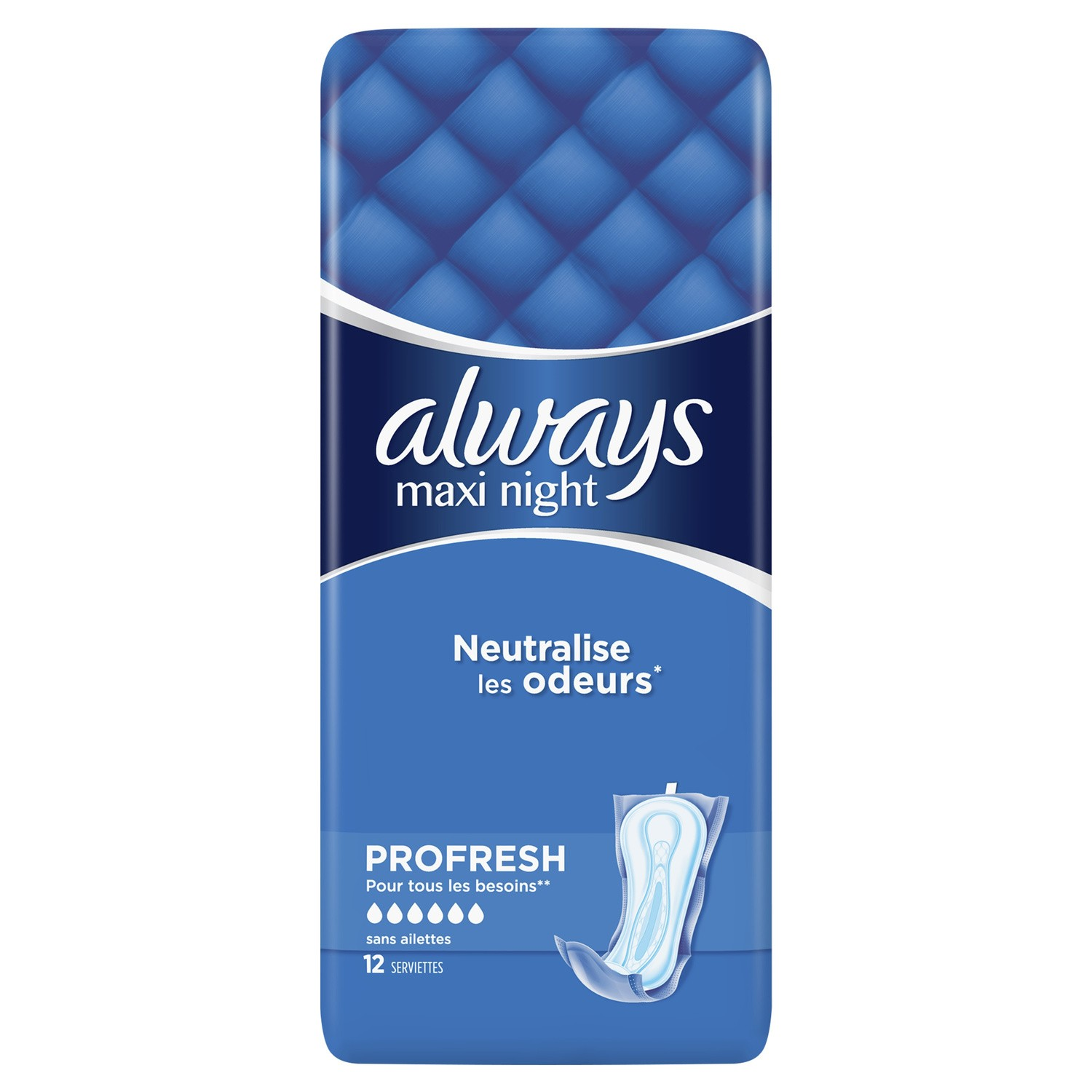 Always Maxi Profresh X12