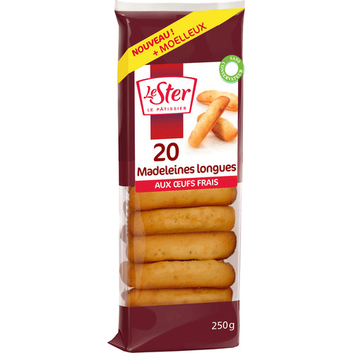 L Madeleines Long Nature 250g
