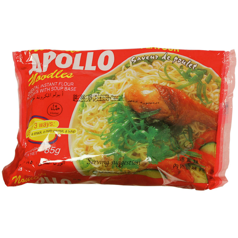 Nouille Apollo Poulet 85g