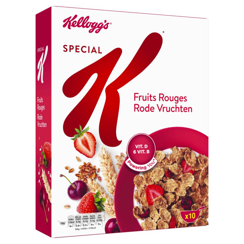 Special K Fruits Rouges 300g