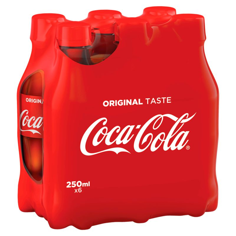 Coca Cola Clas.pet 6x25cl