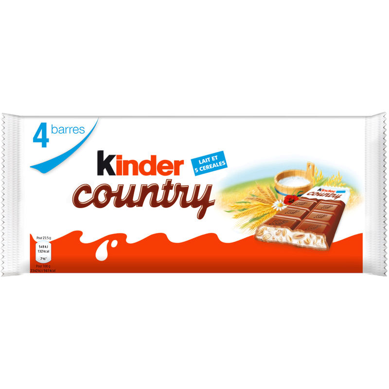 Kinder Country T4 94g