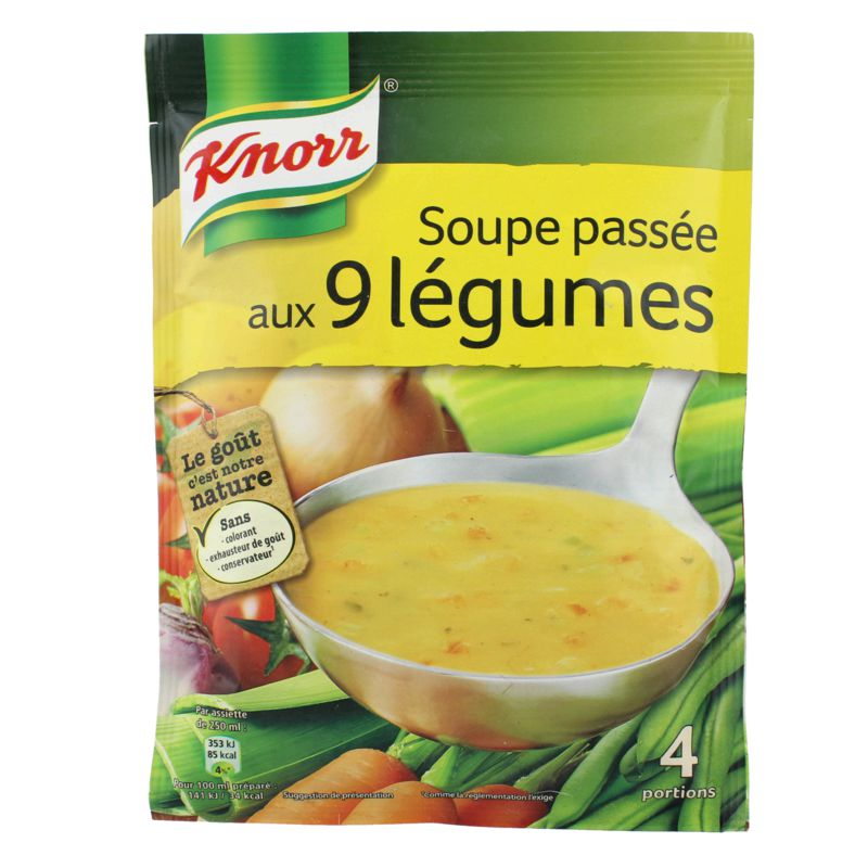 Soupe Passee 9 Legumes 105g