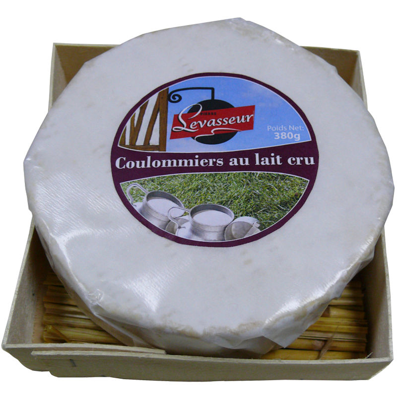 Coulommiers Lait Cru 20% 380g