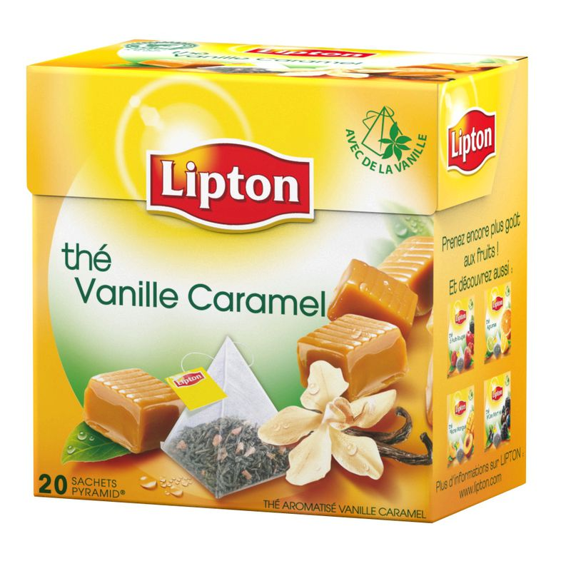 Lipton The Vanil/caram 34g