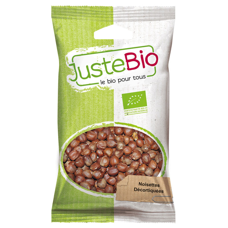 Bio Noisettes Decortiq. 100g