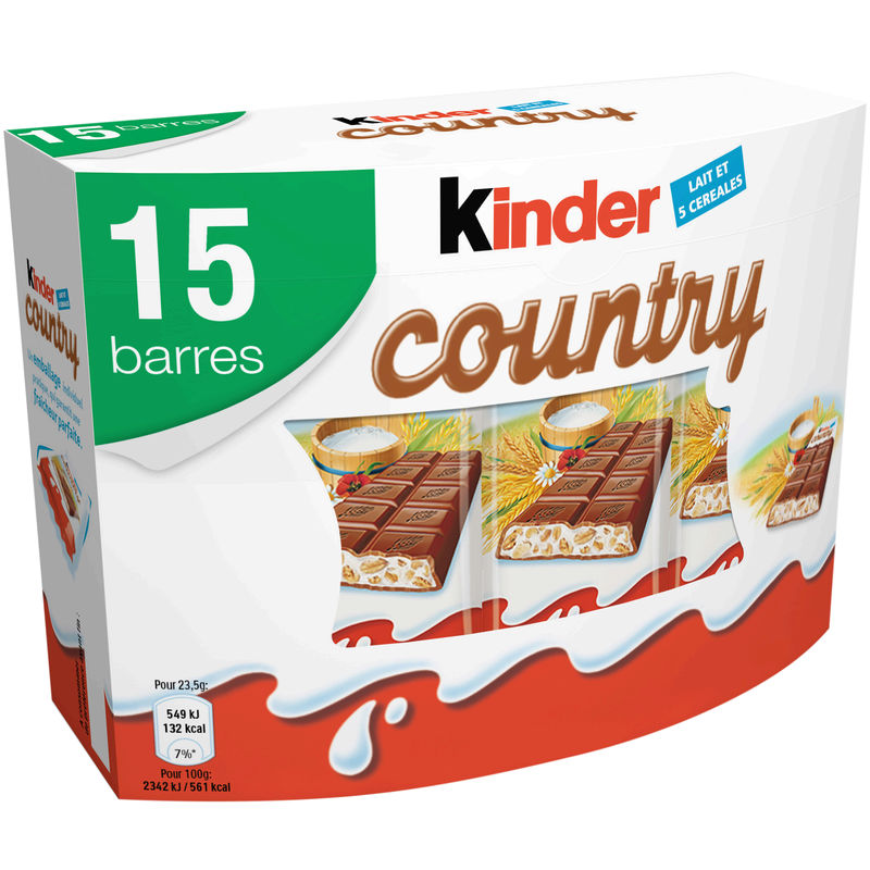 Kinder Country X15 353g