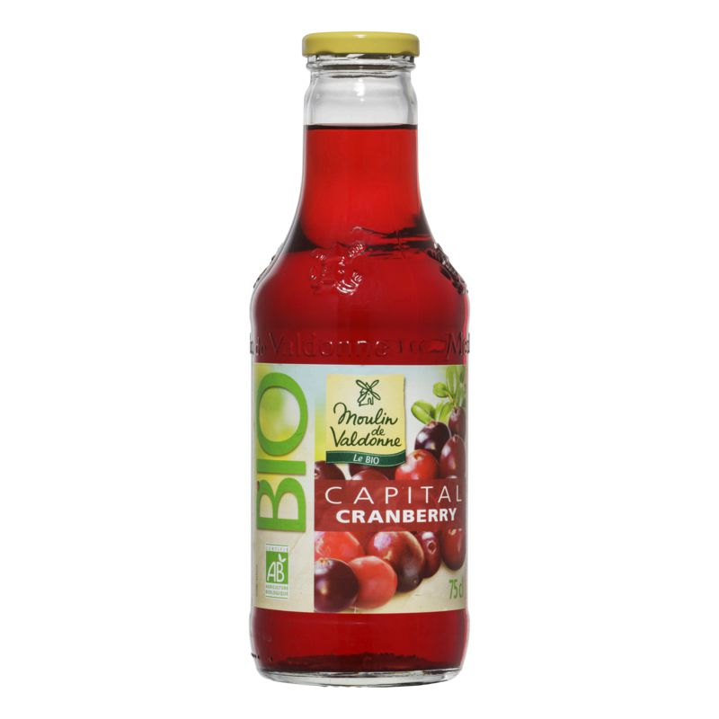 Jus Capital Cranberry Bio 75cl
