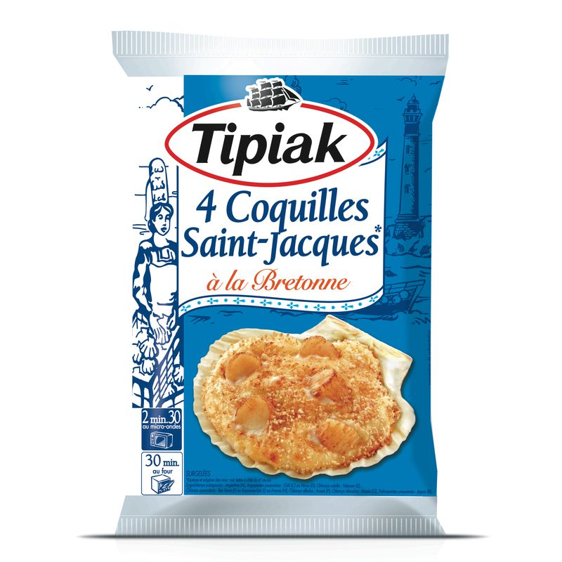 Coquil.st Jacques Bretonne 4x9