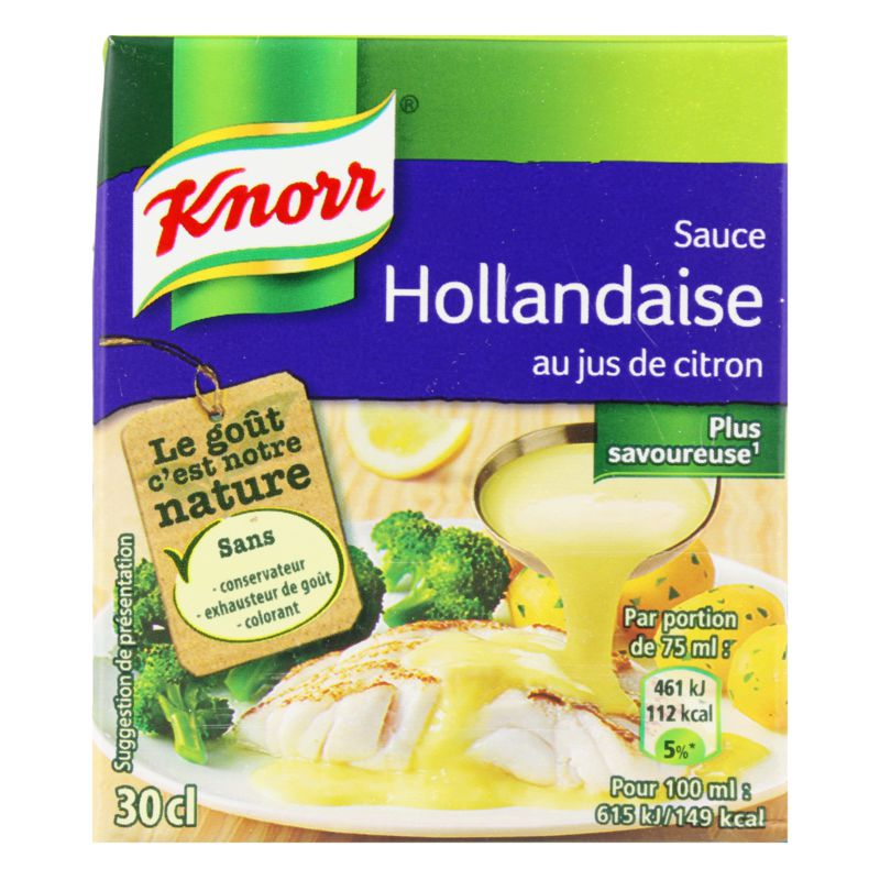 Sauce Holland.30cl Knorr