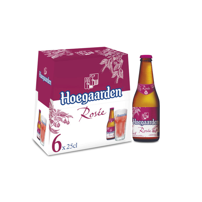 Hoegaarden Rose 3d 6x25cl