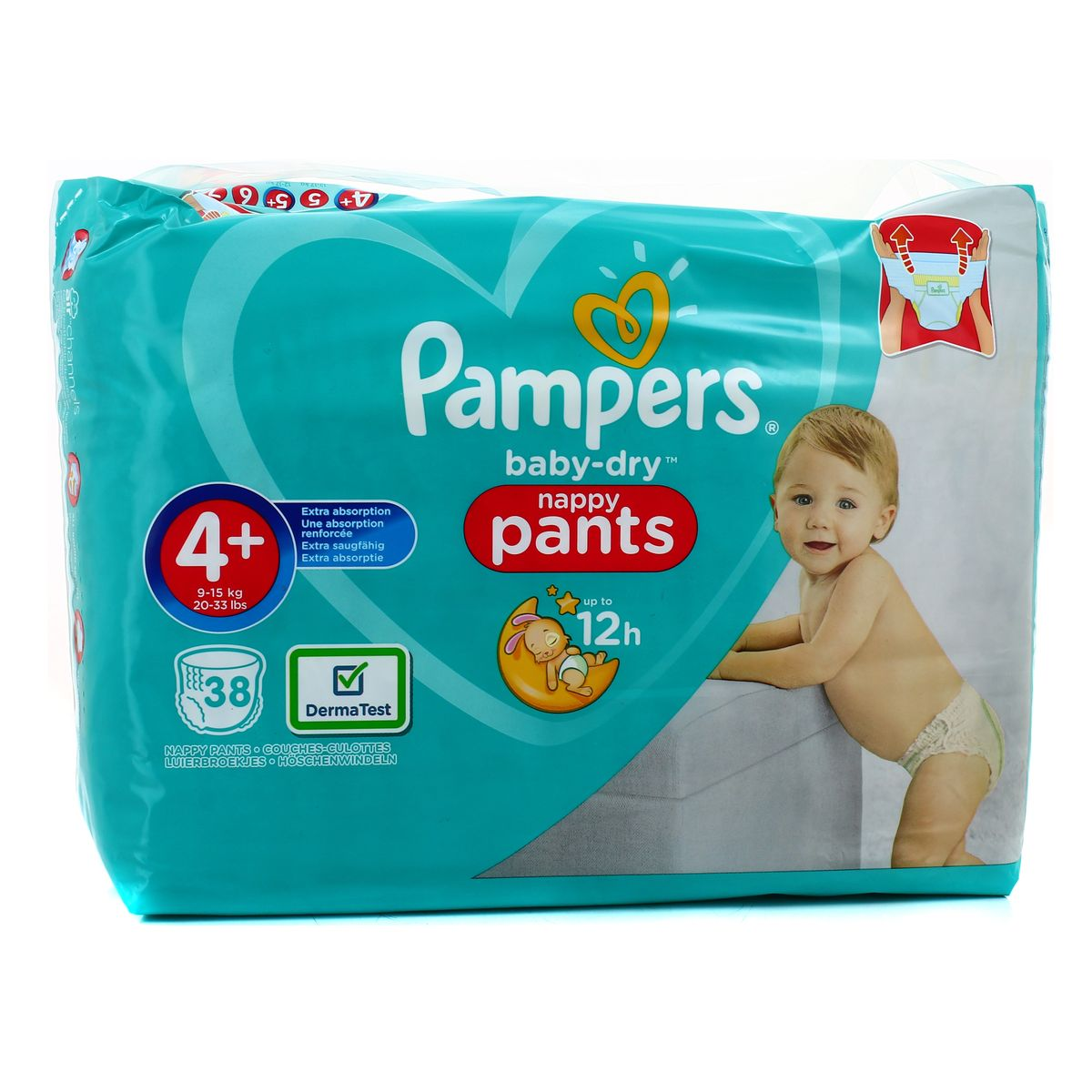 Pampers Pants Geant T4+ X38