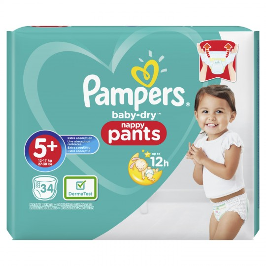 Pampers Pants Geant T5+ X34
